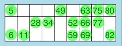 how to play bingo full house